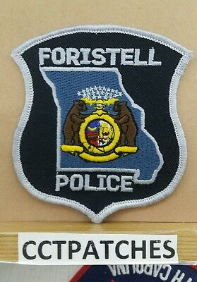 FORISTELL, MISSOURI POLICE SHOULDER PATCH MO