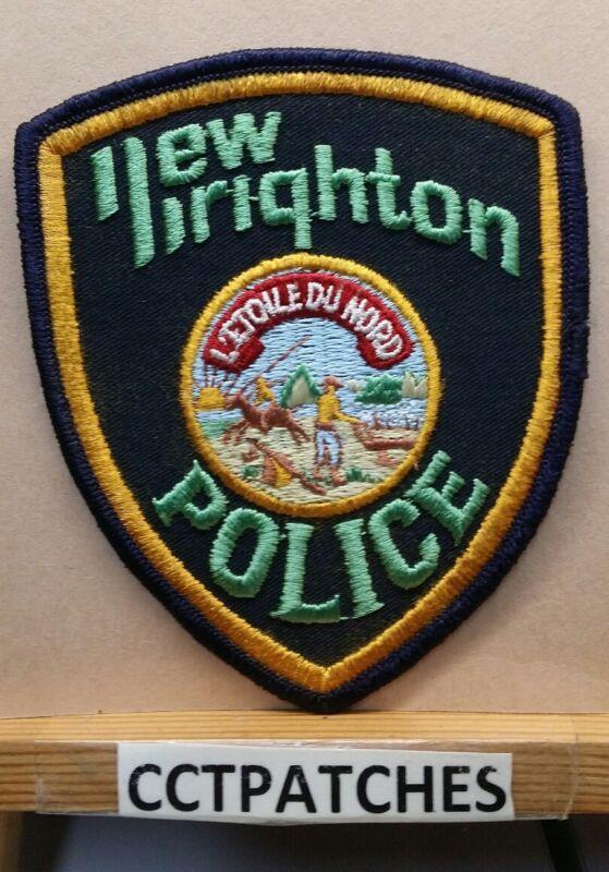 NEW BRIGHTON, MINNESOTA POLICE SHOULDER PATCH MN