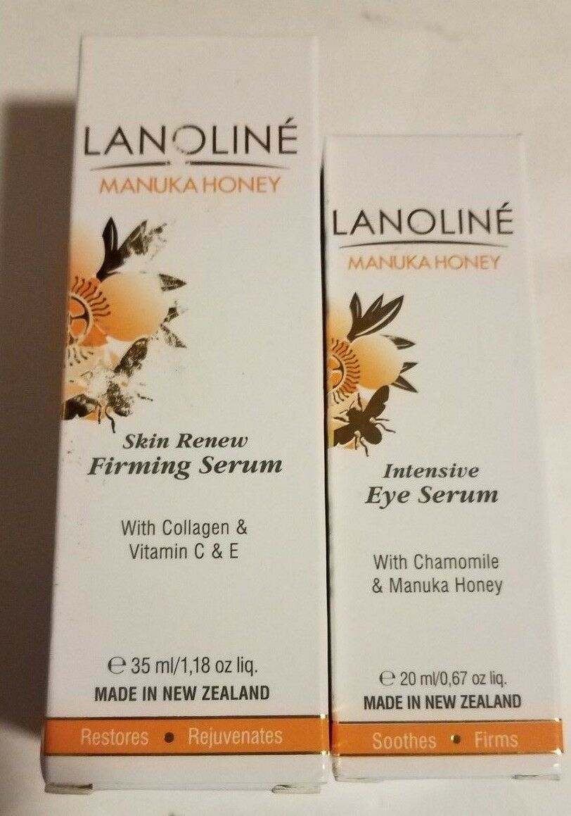 NEW Sealed LANOLINE Manuka Honey Intensive Anti-age Eye Seru