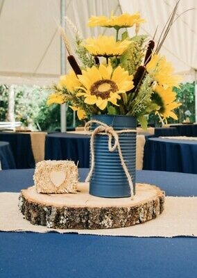 Silk floral arrangement centerpiece, artificial flower arrangement Sunflowers Flower Arrangements Sunflowers