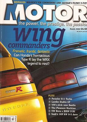 Motor Mar 00 WRX 911 986 Turbo Mondeo ST24 9-5 Aero E320 Rover 75 CLK 55 EL ER6
