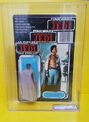 Star Wars Vintage Last 17 Lando General Tri Logo Moc/Carded Figure AFA 80 !!!