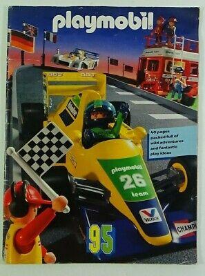 1995 Playmobil Toys 40 page Catalog Geobra Brandstatter #C10