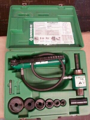 Nice Greenlee 7646 Hydraulic Knockout Hand Pump 767 746 Ram 6500 Psi