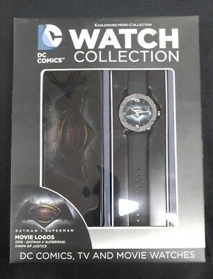 DC WATCH COLLECTION #1 BVS BATMAN VS SUPERMAN DAWN OF JUSTICE MOVIE  EAGLEMOSS
