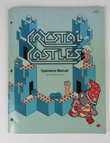 Atari Crystal Castles Arcade Game Manual