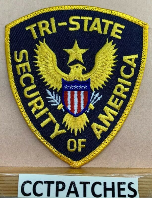 TRI-STATE, TENNESSEE SECURITY OF AMERICA (POLICE) SHOULDER PATCH TN