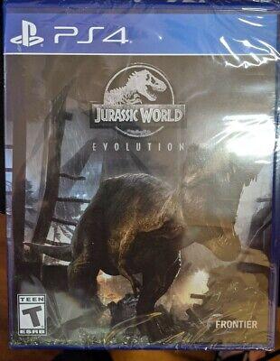 Jurassic Evolution PlayStation 4 PS4 Games DINOSAUR Experience JURASSIC PARK