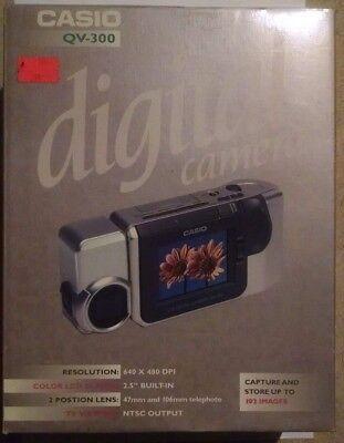Casio QV-300 Digital Camera - Silver Brand New