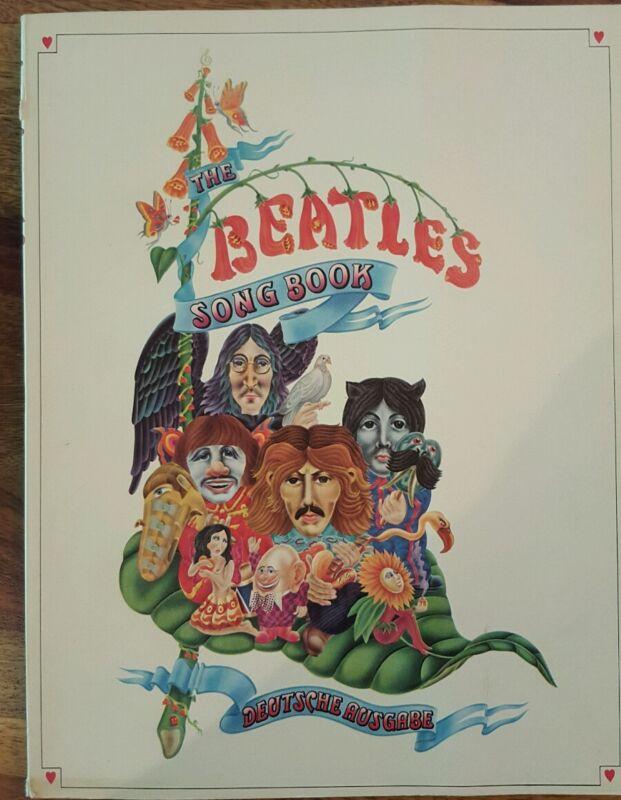 The Beatles songbook deutsche ausgabe (1969, in german)