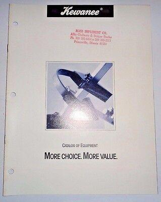 Kewanee Cultivatordiskmulcherelevatorbladeauger Sales Brochure Literature