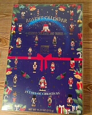 German Chocolates & Truffles Advent Calendar Moser Roth Christmas Nutcracker