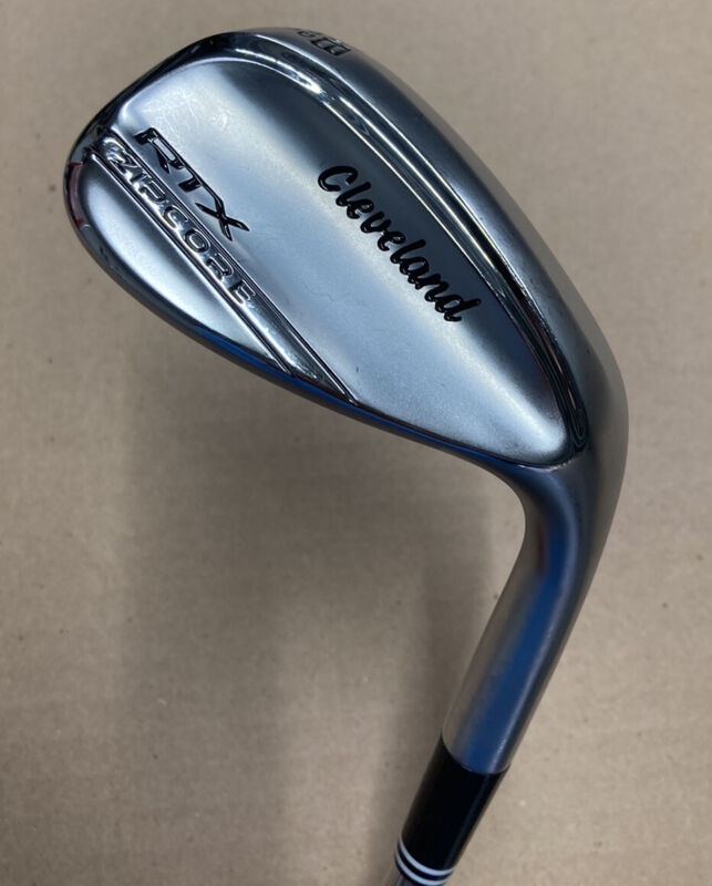 Used Cleveland RTX Zipcore 58 Mid Tour Issue DG Spinner Wedge Shaft