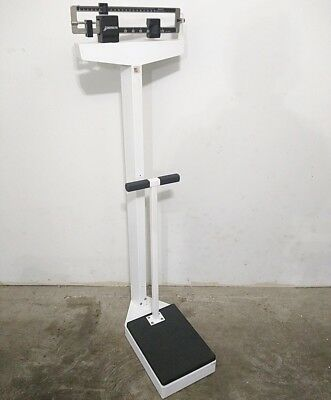 Detecto Physician Doctor Fitness Balance Beam Scale 140kg - Pick-up Deal Only