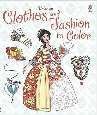 Usborne Patterns to Color Clothes and Fashions to Color (Paperback)FREE ship $35