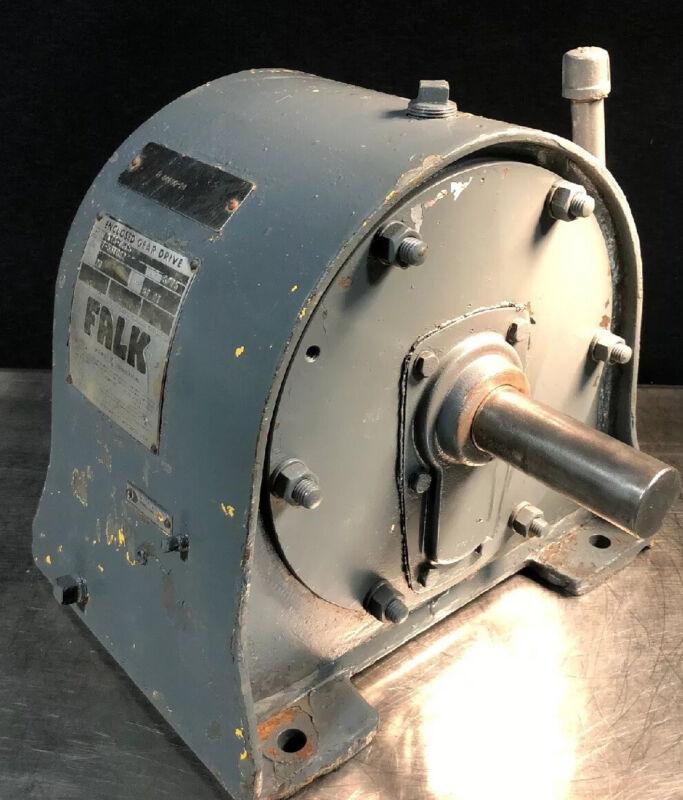 Falk 2KZ3-06CS 87.27 Ratio 20 RPM Enclosed Gear Drive Reducer