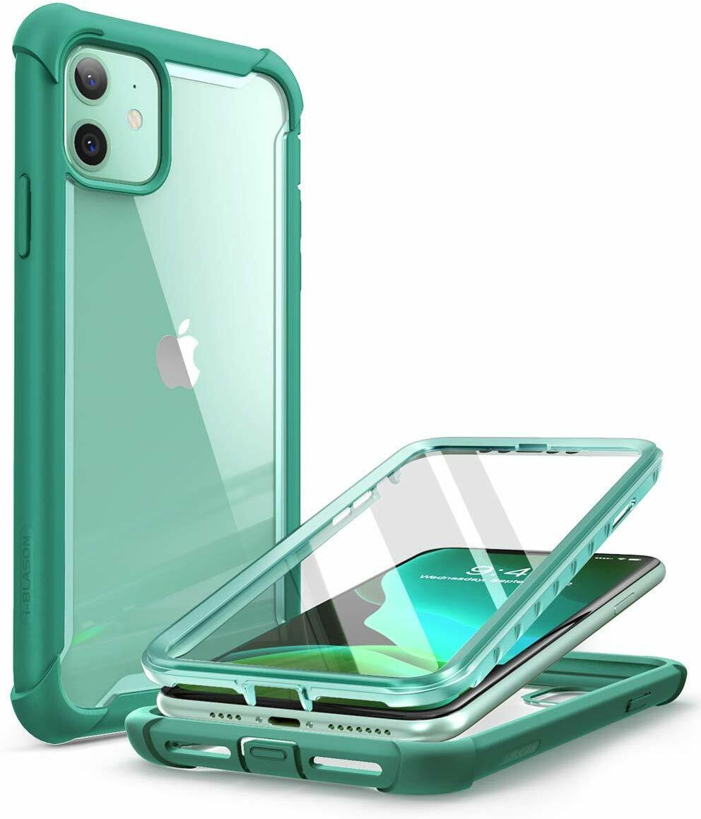 iPhone 11 Case 6.1 i-Blason Ares Dual Layer Bumper Cover wit