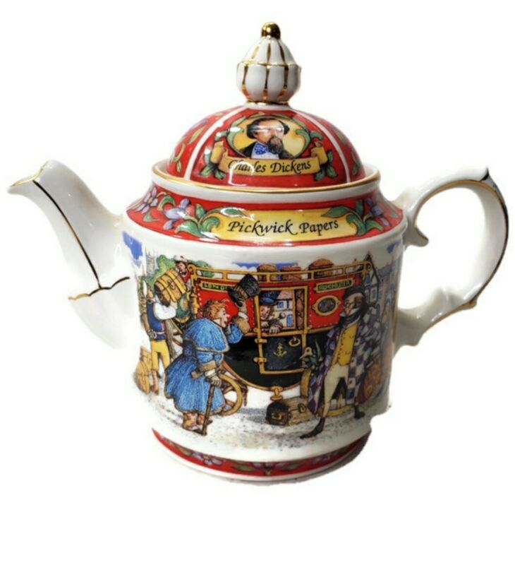 James Sadler Pickwick Papers Charles Dickens Teapot