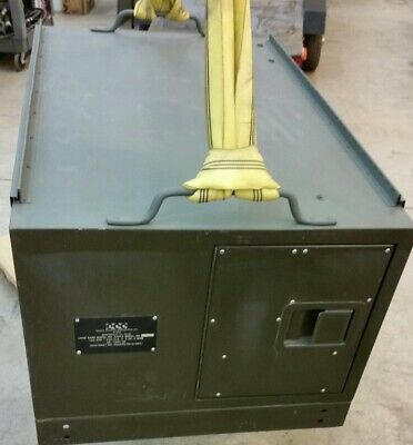 Essex Electro Engineers Electrical Test Set Military Generator Load Bank A427a