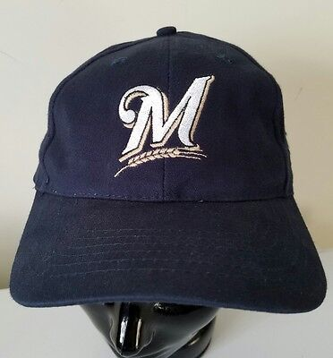 Milwaukee Brewers Snapback Charter Communications Old Logo Baseball Cap Hat