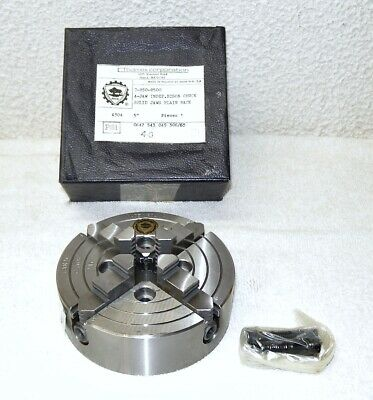 New Bison 5 4-jaw Independent Chuck 7-850-0500 Semi-steel Plain Back 4304
