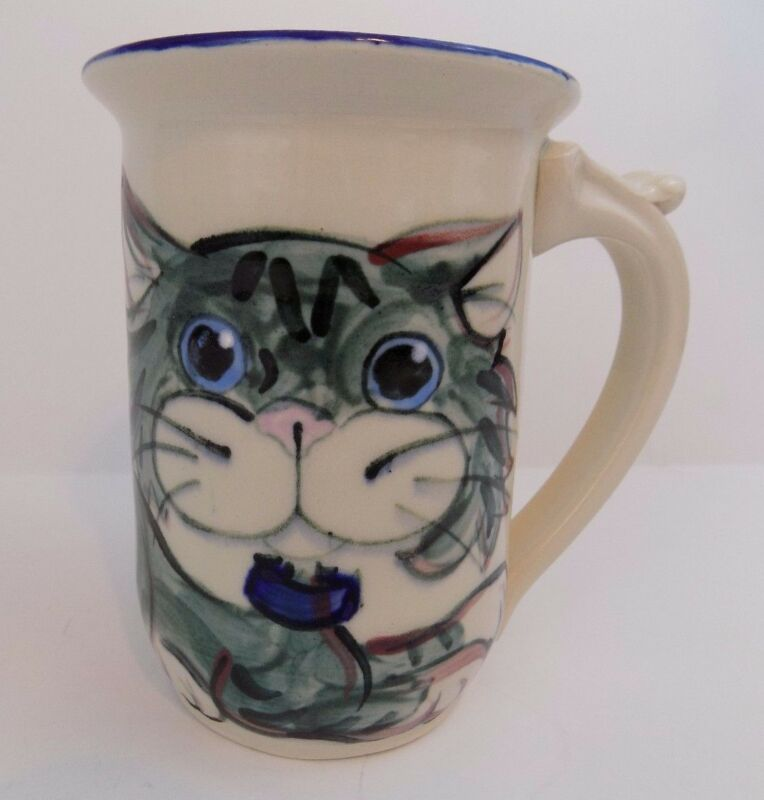 Cat - Coffee Mug/Cup - Unique - Made In Maine