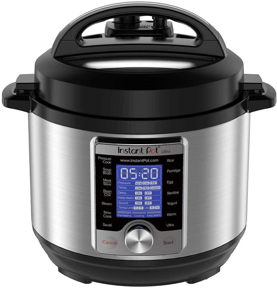 Instant Pot Ultra 10-in-1 Programmable Pressure Cooker 3qt -