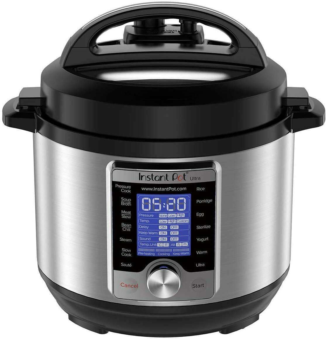 Instant Pot Ultra 3 Qt 10-in-1 Multi- Use Programmable Press
