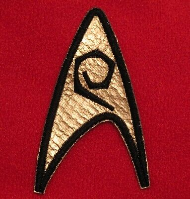 Star Trek TOS Original Series Insignia Patch Engineering Enterprise Scotty Uhura
