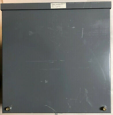 Hoffman Steel Electrical Galvanized Rainproof Enclosure 16x16x10 A-16r1610.