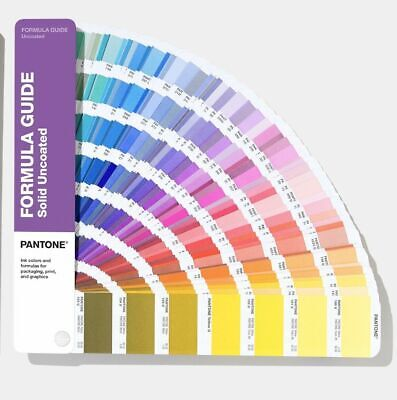 New Pantone Formula Color Guid Uncoated Book Gp1601a - 2020