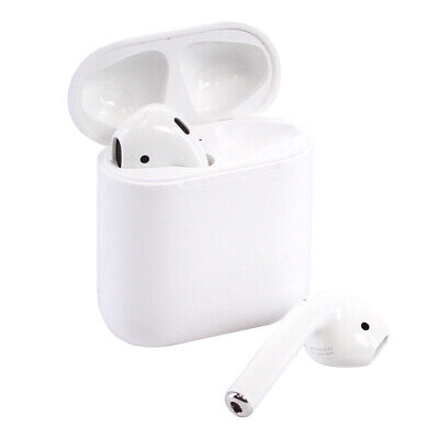 Apple – AirPods with Charging Case (Latest Model) – White