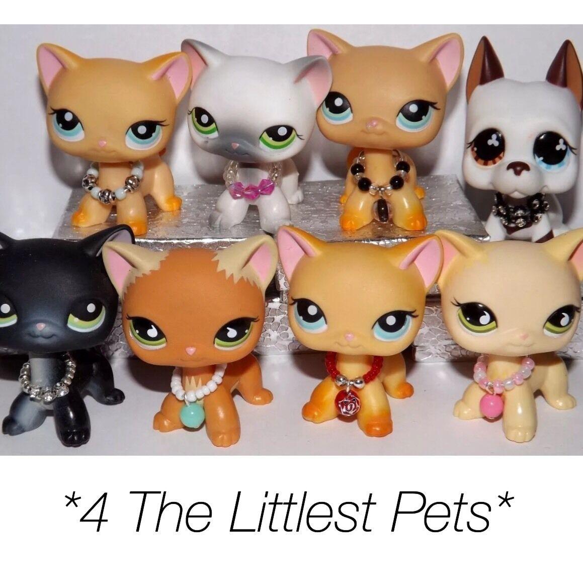 Купить 💞Littlest Pet Shop accessories clothes 3pc random collars LPS CAT NOT INCLUDED