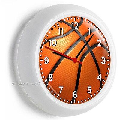 BASKETBALL BALL WALL CLOCK MAN CAVE FOR BOYS BEDROOM ROOM HOME DECOR GIFT IDEA](Basketball Decorating Ideas)