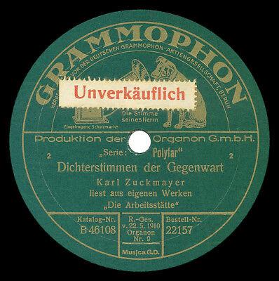 Band 2: Schellack-Sprachaufnahmen Diskographie- Spoken wo4rd discography 78rpm