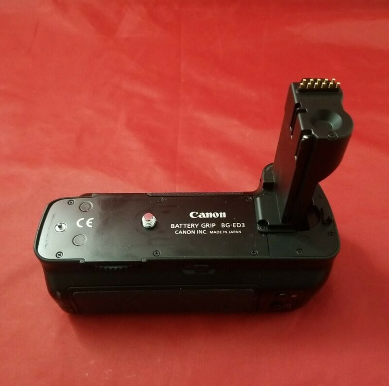 Genuine Canon BG-ED3 Battery Grip for D60,D30,10D.