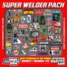 NEW WELDER 40+ Hard Hat Stickers HardHat Sticker & Decals, Welding Helmet, Hood