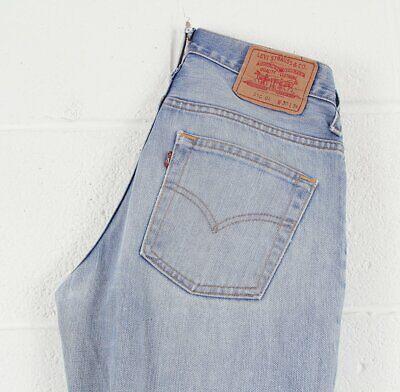 RARE Vintage Levi's 516 04 Blue Bootcut Flare Men's Jeans W30 L34