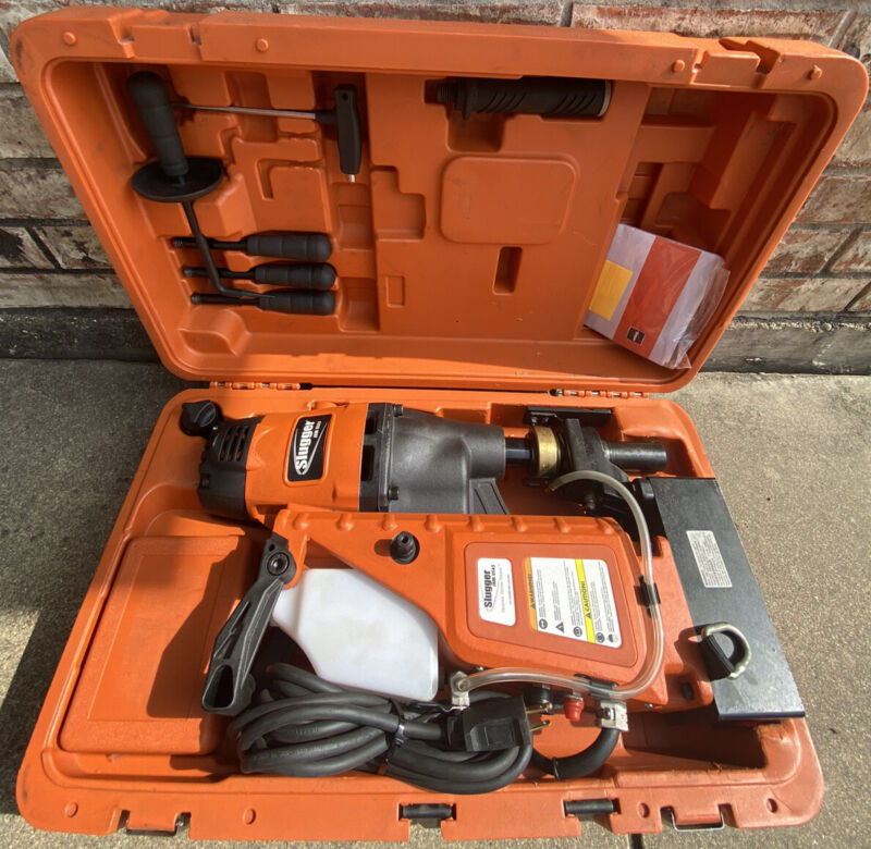 Slugger USA5 Electromagnetic Drill Press Kit  Very Clean Condition!!!!