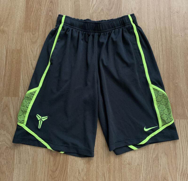 Nike Dri-Fit Kobe Bryant KB24 Black Mamba Basketball Shorts Youth Large 14-16