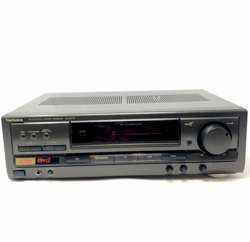 Technics SA-EX110 AV Control Stereo Receiver ✅TESTED WORKI