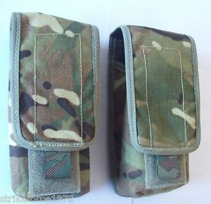 NEW-Genuine-MoD-Issue-MTP-Multicam-Double-Magazine-Ammo-Pouch-x-Set-of-TWO