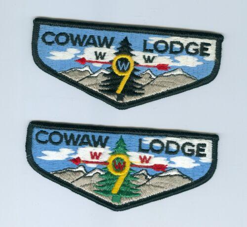 OA  Lodge 9 Cowaw S1 & S2 flaps