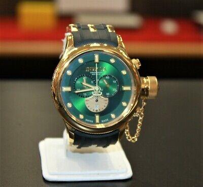 Men's Invicta Green Dial Russian Diver 5936 Chronograph  Watch