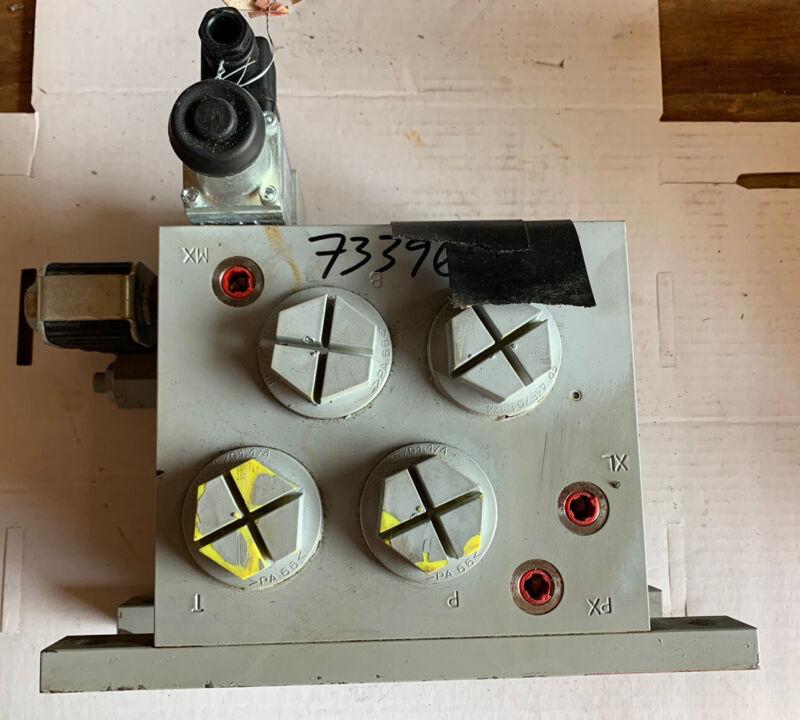 Liebherr Valve Hydraulic Control, Part Number 511615914