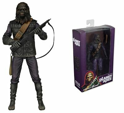 """Planet of the Apes Gorilla Soldier 7"""" Action Figure ~ New in Box"""