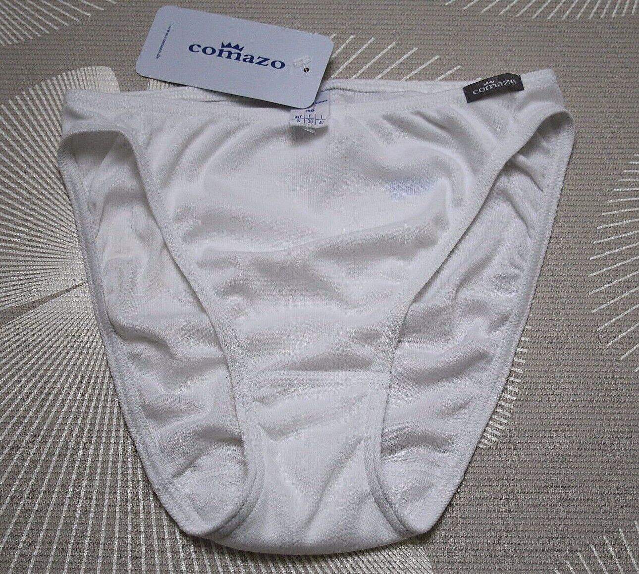 Comazo Damen Rio Slip Tai 100% Baumwolle weiß / earth NEU