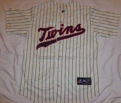 Alternate Stripe - Minnesota Twins MLB Baseball Jersey Alternate Creme Stripe Black Tag