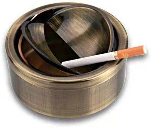 Ashtray Windproof Ashtray with lid Flip Top Ashtray for Indoor or Outdoor Use