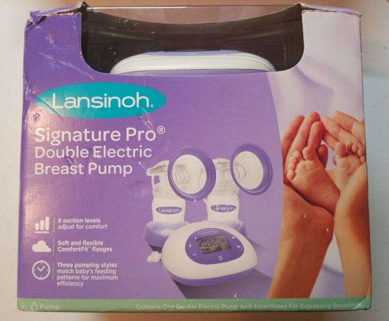 Lansinoh Signature Pro Double Electric Portable Breast Pump w/Essentials